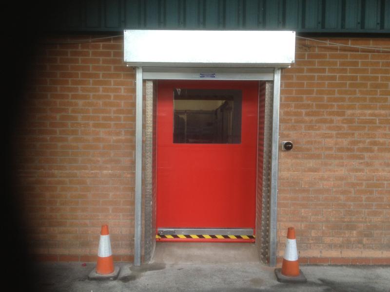 Industrial Rapid Roll Doors