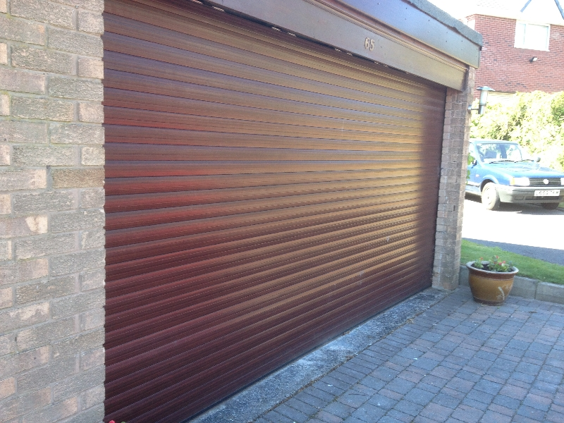 Roller Garage Doors North West | Roller Garage Door Installers ...