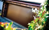 Brown Insulated Roller Garage Door 2