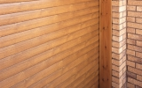 Light Wood Effect Insulated Roller Garage Door