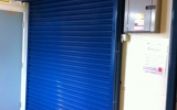 Interior Roller Shutter Closed