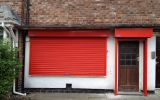 Powder Coated Galvanised Steel Roller Shutter.