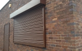 Powder Coated Commercial Roller Shutters.