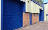 Powder Coated Industrial Roller Shutter