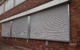 Galvanised Steel Window Roller Shutters.