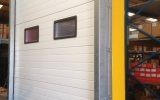 Industrial Sectional Door with Windows
