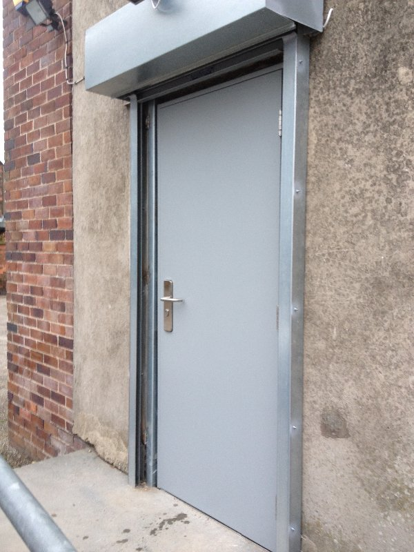 Steel Security Doors : Security doors steel uk