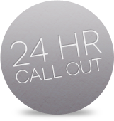 24 hour call out