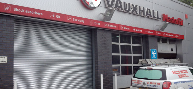 Commercial Roller Shutters for Vauxhaul