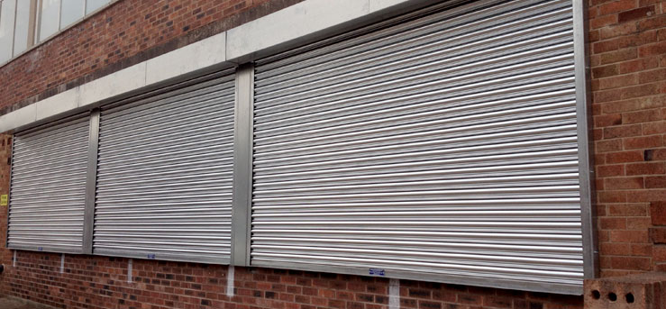 Galvanised Steel Window Roller Shutters