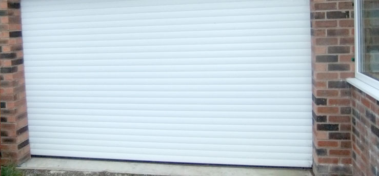 Domestic Roller Garage Doors