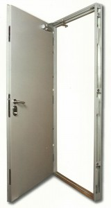 Secure Steel Personnel Door